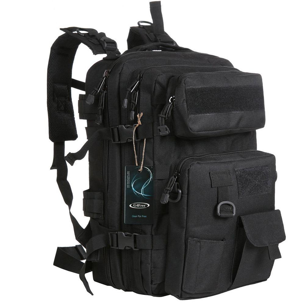 Tas Ransel Army Tactical Pria 40l 068 Black Pinggang 1