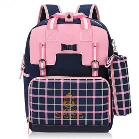 Sun Eight Tas Ransel Sekolah Anak Splashproof - 2325 - Pink