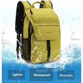 TIGERNU Tas Ransel Laptop Waterproof - T-B3159 - Black - 7