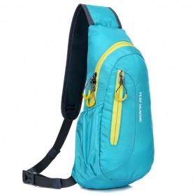 Weikani Tas Selempang Crossbody Bag Sport Waterproof Keep Walking - T1333 - Blue - 1