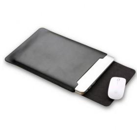 LISEN Sleeve Case Kulit Laptop Ultrabook 15.6 Inch - Z018 - Black - 2