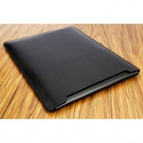 LISEN Sleeve Case Kulit Laptop Ultrabook 15.6 Inch - Z018 - Black - 3