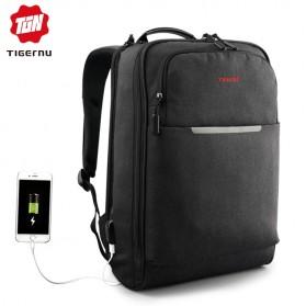 TIGERNU Tas Ransel Laptop 14 Inch -  T-B3305 - Black