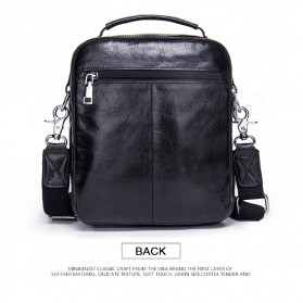 Contacts Tas Selempang Pria Vintage Messenger Bag - MB082 - Black - 6