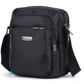 Westlong Tas Selempang Elegan Pria Messenger Bag - 3918 - Black