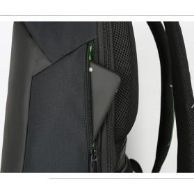 BAIBU Urban Tas Ransel Laptop dengan USB Charger - ZL1913-39 - Black - 9