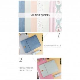Linen Sleeve MacBook Air Pro 11.6 Inch - Blue - 4