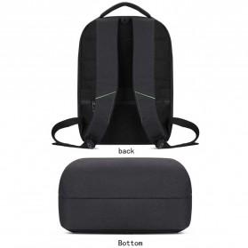 BAIBU Tas Ransel Laptop dengan USB Charger Port - 1927-40 - Black - 3