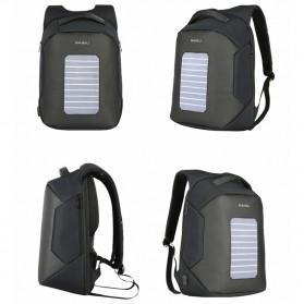BAIBU Tas Ransel Solar Charging dengan USB Charger Port - ZL1914 - Blue - 8