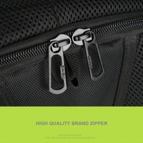 BAIBU Tas Ransel Solar Charging dengan USB Charger Port - ZL1914 - Blue - 10