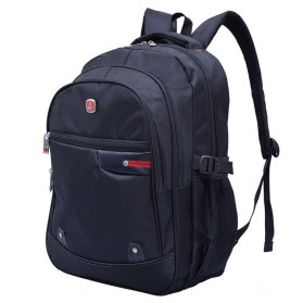 Chuwanglin Tas Ransel Laptop Backpack - Black