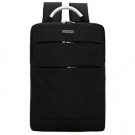 Tas Ransel Laptop Square Fashion Bag - Black