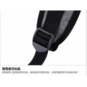 Tas Ransel Laptop Square Trendy Bag - Black - 7