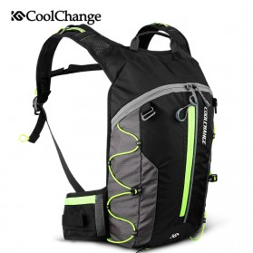 CoolChange Tas Ransel Gunung Hiking Waterproof 10L - 03010 - Green