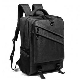 Tas Ransel Laptop Daypack - Black