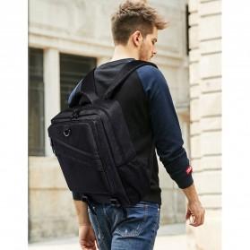 Tas Ransel Laptop Daypack - Black - 8