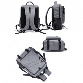 Tas Ransel Laptop Daypack - Gray - 2