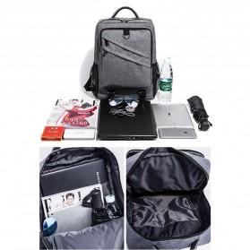 Tas Ransel Laptop Daypack - Gray - 3