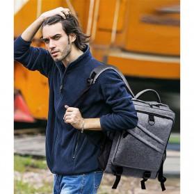 Tas Ransel Laptop Daypack - Gray - 5