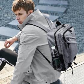 Tas Ransel Laptop Daypack - Gray - 6