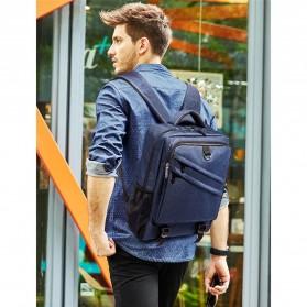 Tas Ransel Laptop Daypack - Gray - 9