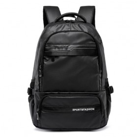 Tas Ransel Laptop Back to School Bag - Black