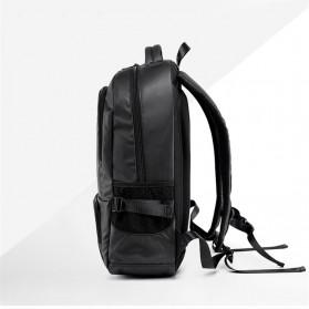 Tas Ransel Laptop Back to School Bag - Black - 2