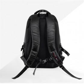 Tas Ransel Laptop Back to School Bag - Black - 3