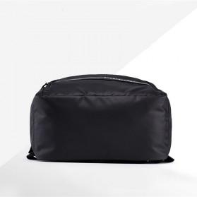 Tas Ransel Laptop Back to School Bag - Black - 4