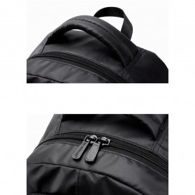 Tas Ransel Laptop Back to School Bag - Black - 7