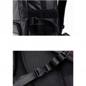 Tas Ransel Laptop Back to School Bag - Black - 8