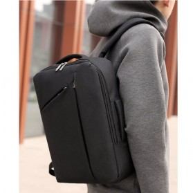 Tas Ransel Laptop Classical Design - Black - 2