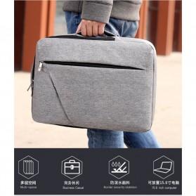 Tas Ransel Laptop Classical Design - Black - 3
