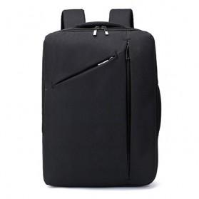 Tas Ransel Laptop Classical Design - Black - 9