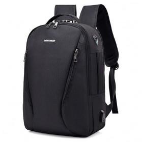 Tas Ransel Laptop Security Lock dengan USB Charger Port - MR6320 - Black