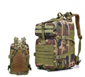 Tas Ransel Hiking Camping Mountaineering Military - 9252 - Army Green - 1