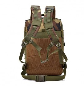 Tas Ransel Hiking Camping Mountaineering Military - 9252 - Army Green - 4