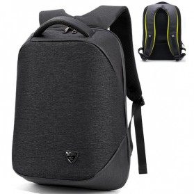 Arctic Hunter Tas Ransel Ordinary Version dengan USB Charger Port - B00193 - Black
