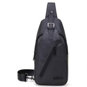 ArcticHunter Tas Selempang Crossbody Bag Oxford Cloth Waterproof - Black