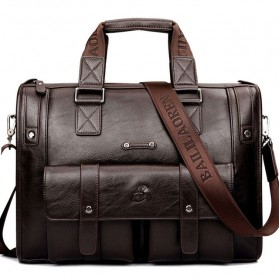 Messenger Bag / Tas Selempang - BAILLR Tas Jinjing Selempang Kulit Pria - Size Small - Brown