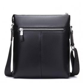 BAILLR Tas Selempang Kulit Pria Crossbody Bag - Black - 3