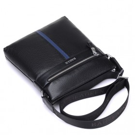 BAILLR Tas Selempang Kulit Pria Crossbody Bag - Black - 4