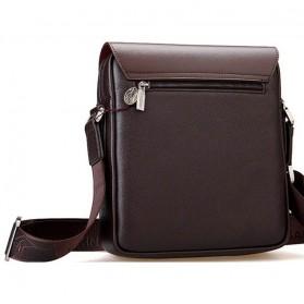 Rhodey Kangaroo Kingdom Tas Selempang Pria Messenger Bag - P4363 - Black - 3