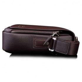 Rhodey Kangaroo Kingdom Tas Selempang Pria Messenger Bag - P4363 - Black - 4