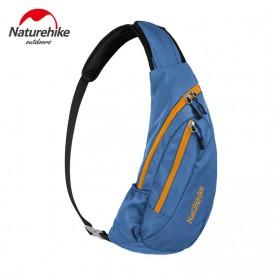 NatureHike Tas Selempang Pria Crossbody Waistbag - NHX23X008 - Blue