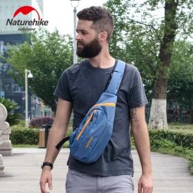NatureHike Tas Selempang Pria Crossbody Waistbag - NHX23X008 - Blue - 2