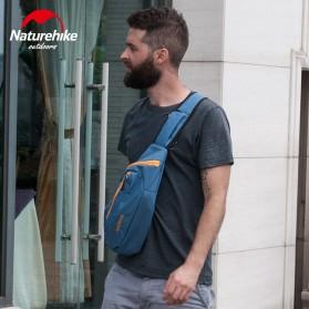 NatureHike Tas Selempang Pria Crossbody Waistbag - NHX23X008 - Blue - 3