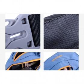 NatureHike Tas Selempang Pria Crossbody Waistbag - NHX23X008 - Blue - 6