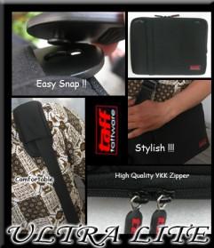 Taffware LITE Softcase - Size Netbook 10 - Black - 4