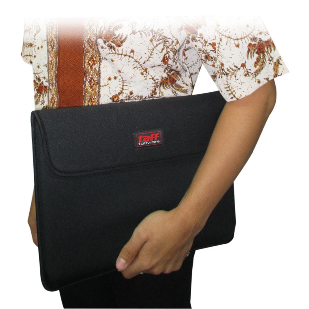 Taffware Sleeve Case Velcro Macbook Air 116 Inch Black Softcase Laptop Notebook 6